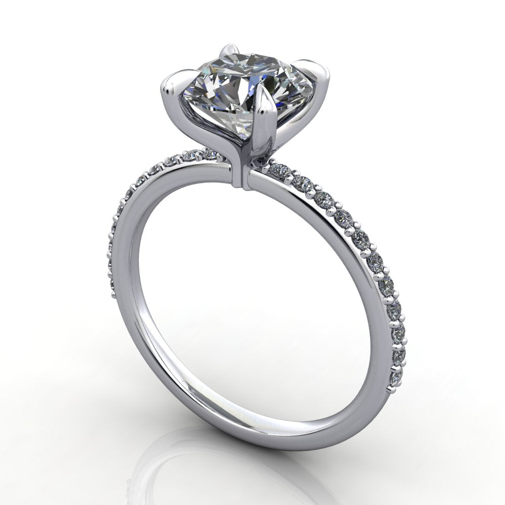 Alexandria Solitaire Engagement Ring