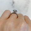 Amelia Halo Engagement Ring (setting only)