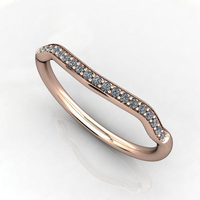 lab-grown diamond contour band soha diamond co