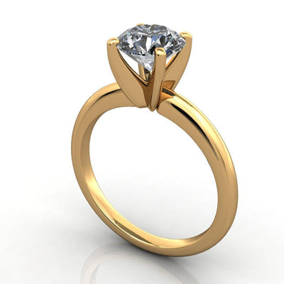 pinched shank classic solitaire soha diamond co
