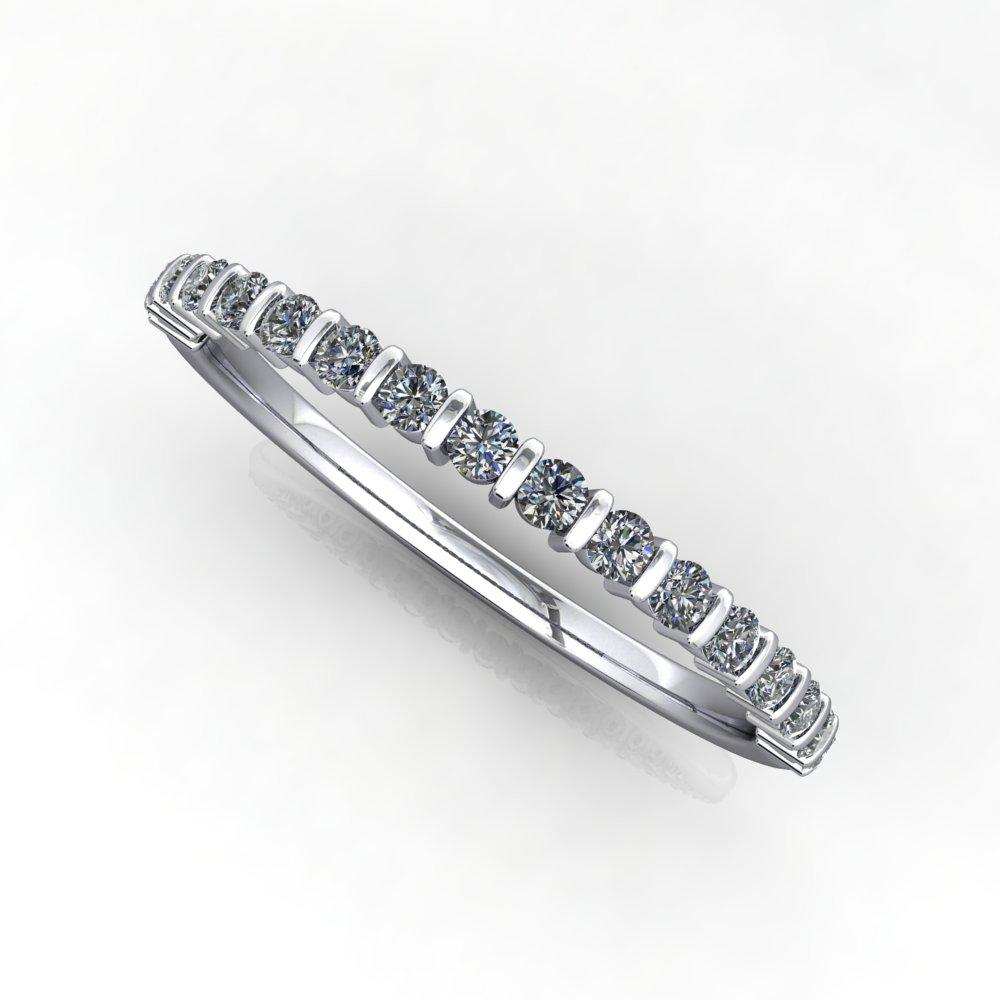 Divvy Diamond Anniversary Wedding Band