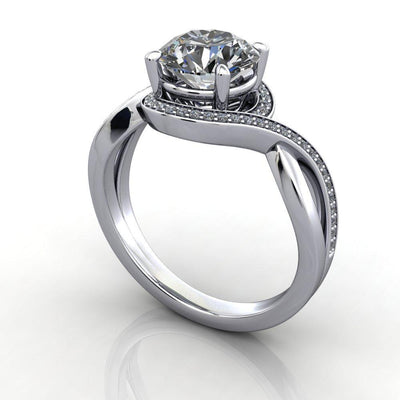split shank bypass halo engagement ring soha diamond co