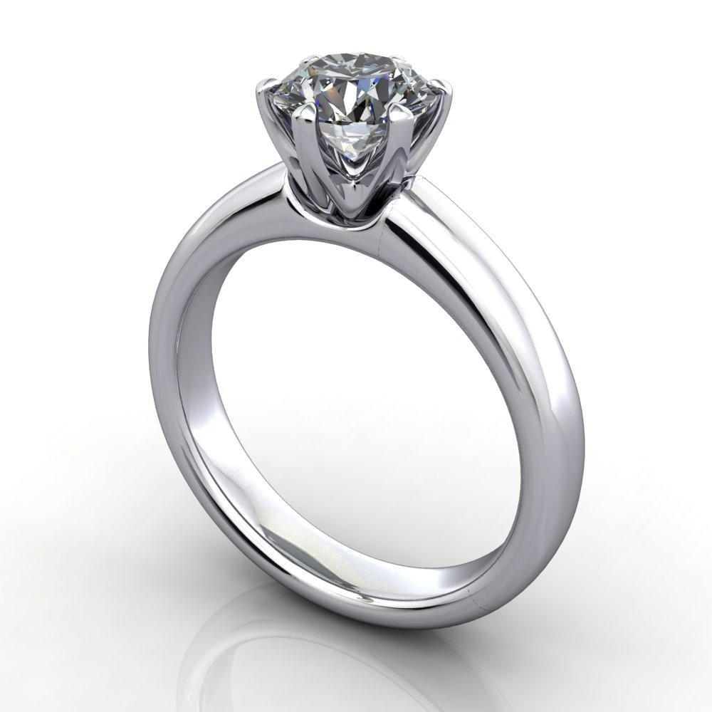 Classic six prong solitaire Soha Diamond Co.