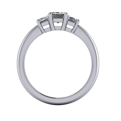Aspen Three-Stone Engagement Ring