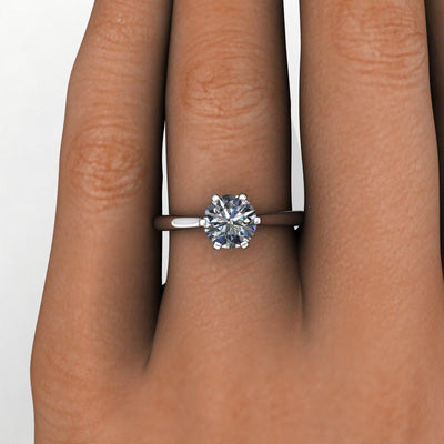 crown inspired solitaire ring soha diamond co
