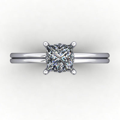 Tia Solitaire Engagement Ring