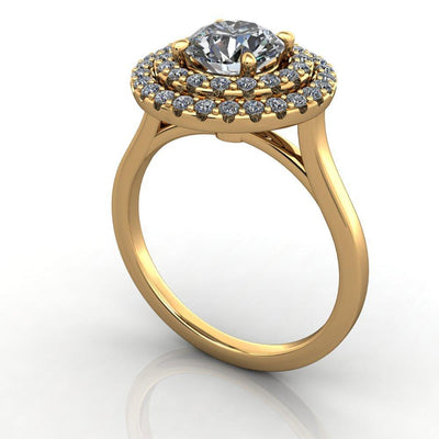 Milan Halo Lab-Grown Diamond Engagement Ring