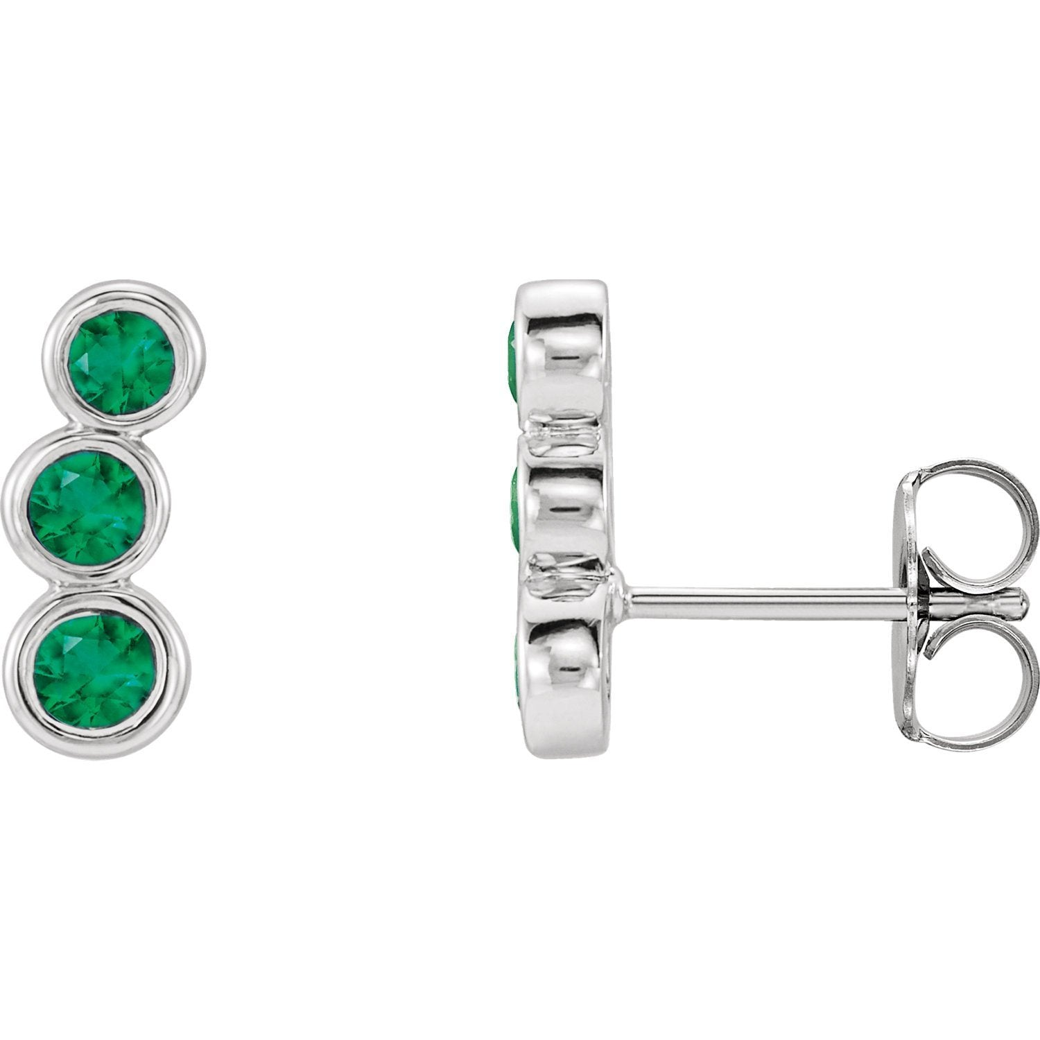 Earring - Gemstone Ear Climbers