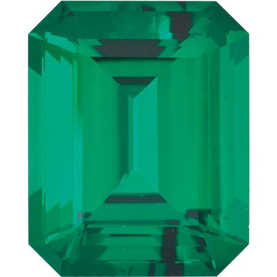 Emerald-Cut East-West Gemstone Solitaire
