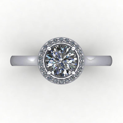 Venice Halo Lab-Grown Diamond Engagement Ring