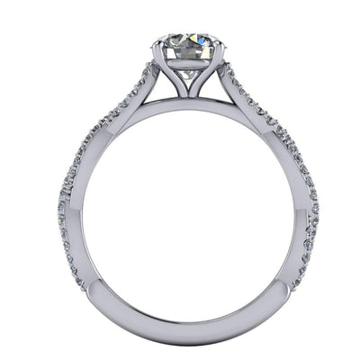 Gia Solitaire Engagement Ring