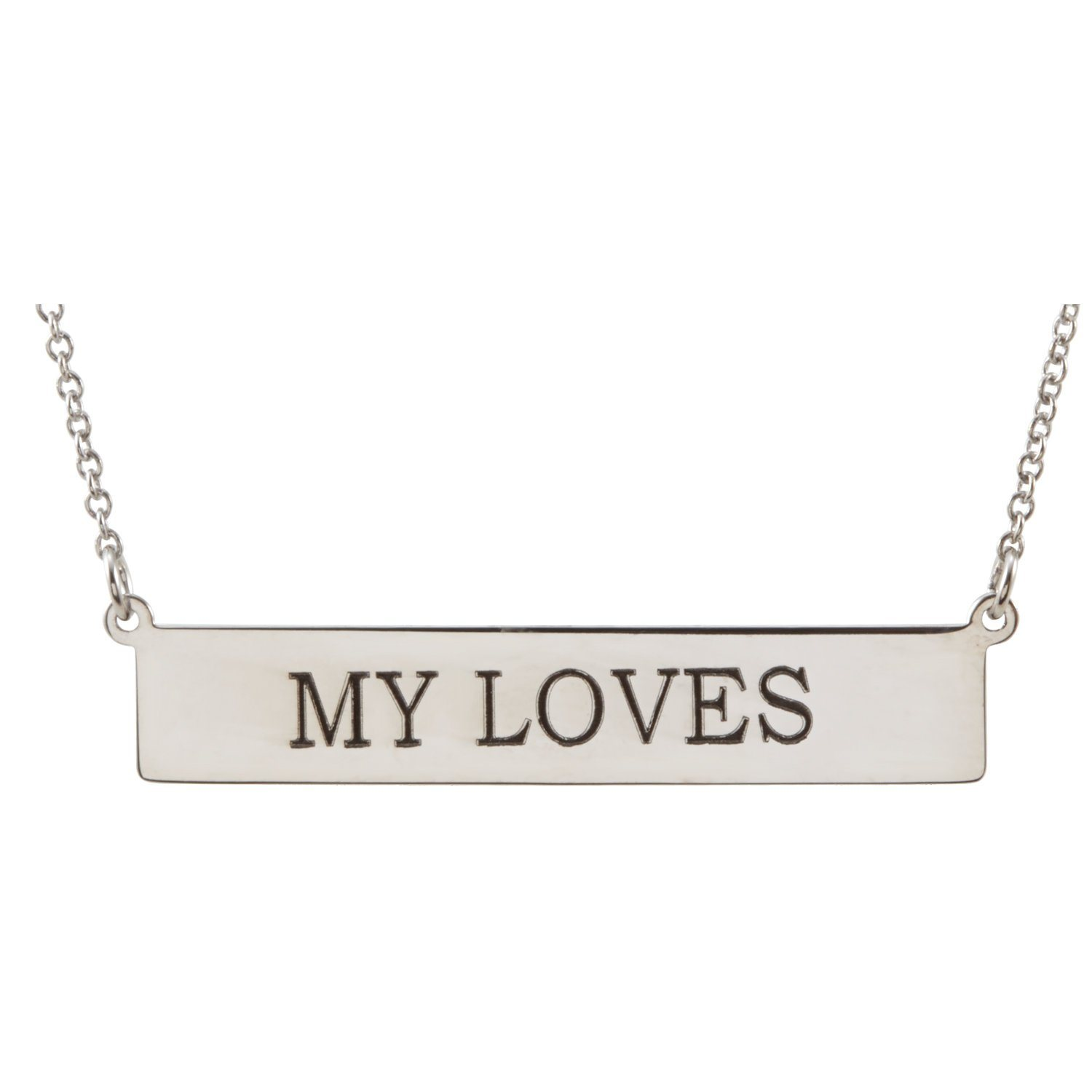 Necklace - Engravable Bar Necklace
