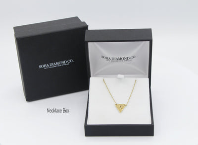 Necklace - Geometric Collection: 14k Gold Rectangle Necklace