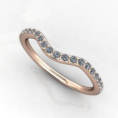 1/5 CTW Diamond Contour Band