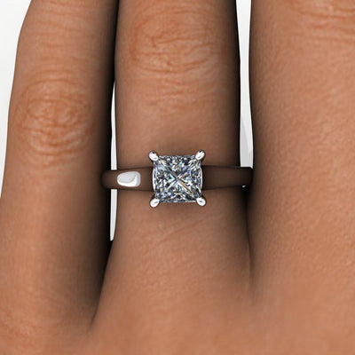 cathedral solitaire white gold