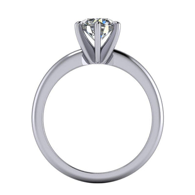 six-prong solitaire engagement ring soha diamond co.