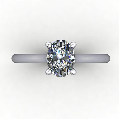 Verona Solitaire Lab-Grown Diamond Engagement Ring