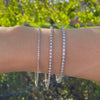Lab-Grown Diamond Tennis Bracelet (Made-To-Order)