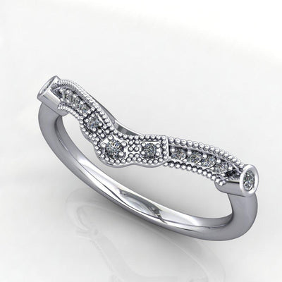 Colette Diamond Contour Band