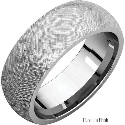 Wedding Bands - Comfort Fit Band 8mm