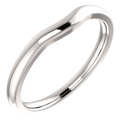 Wedding Bands - Contoured Wedding Band