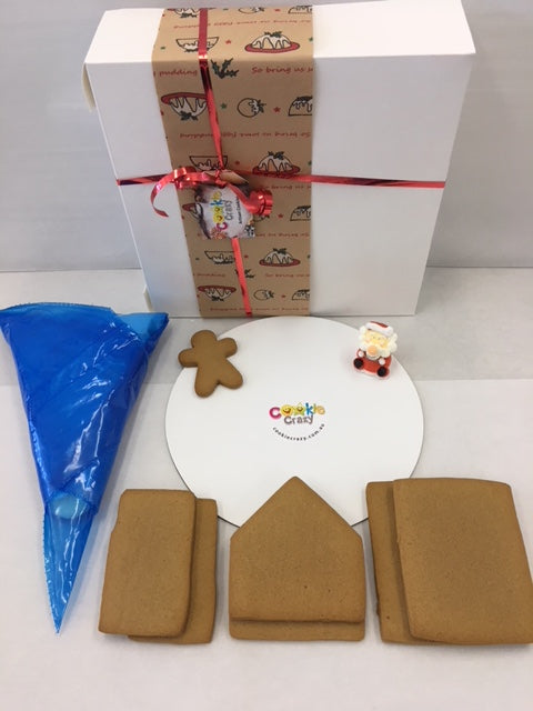 Gingerbread House Kits - Select a Flavour - Gluten  & Dairy Free