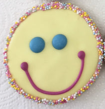 Happy Face - Yellow - Vegan, Gluten Free, Dairy Free, Soy Free and Natural Colours