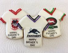 Footy Jersey Cookies