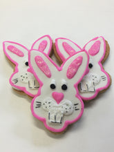 Easter Bunny Head Cookies  Gluten, Dairy Free Assorted colours