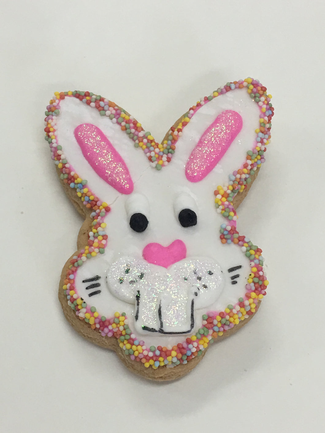 Blue Easter Bunny Head Cookies  Gluten, Dairy Free