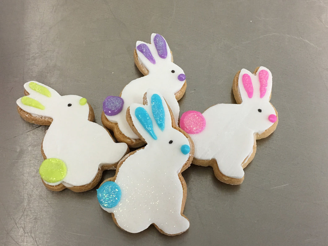 Small Side Bunny Cookies  Gluten, Dairy Free