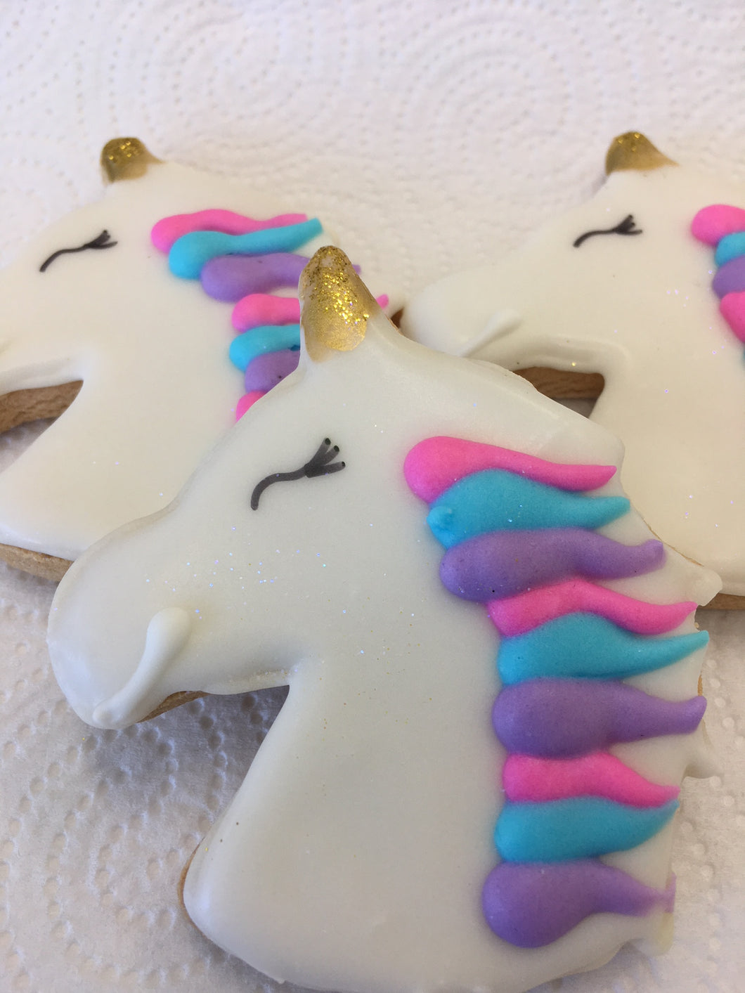 Cookie Crazy, Vegan cookies available by order, egg free available, gluten free, dairy free, soy free, nut free, Delicious Unicorn Cookies