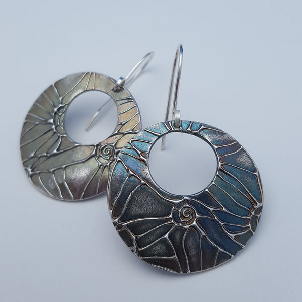 Mollusk Texture Earrings