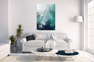 Coastal Collections Co Print Moody Trigg Beach Print