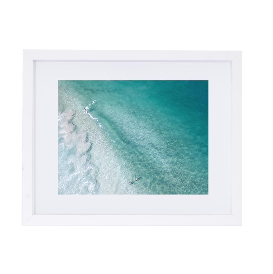 Coastal Collections Co Print Trigg Beach Surfers Print