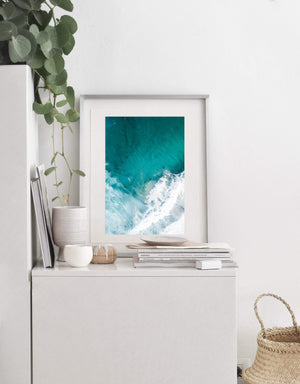 Coastal Collections Co Print Yallingup Waves Print