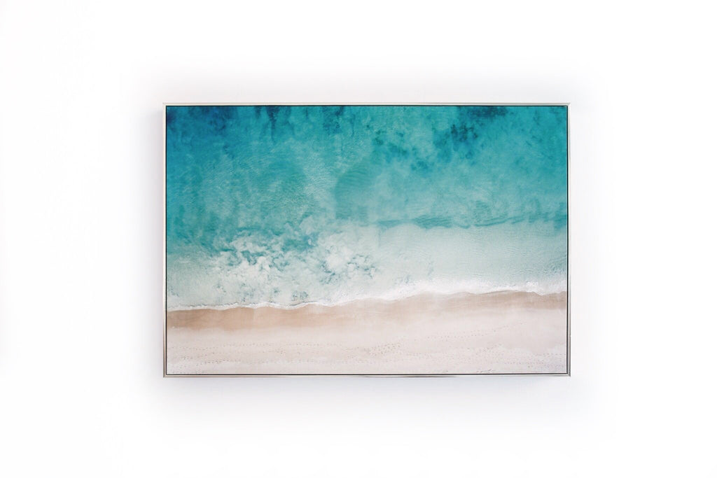 loumirandaaco Bunbury Aerial Framed Canvas