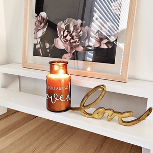 loumirandaaco Candle So Loved Soy Candle