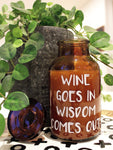 loumirandaaco Candle Wine and Wisdom Soy Candle