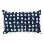 loumirandaaco Cushion Bella Pom Pom Cushion Blue