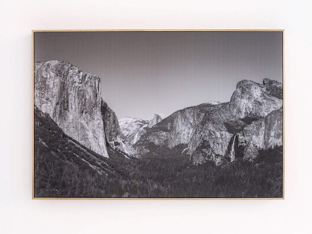 Yosemite Framed Canvas