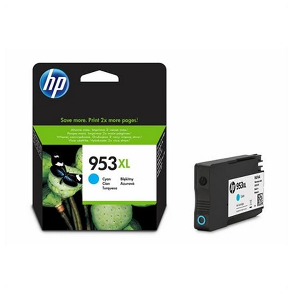 Original Ink Cartridge Hewlett Packard F6U16AE Cyan - MAXMARTZ