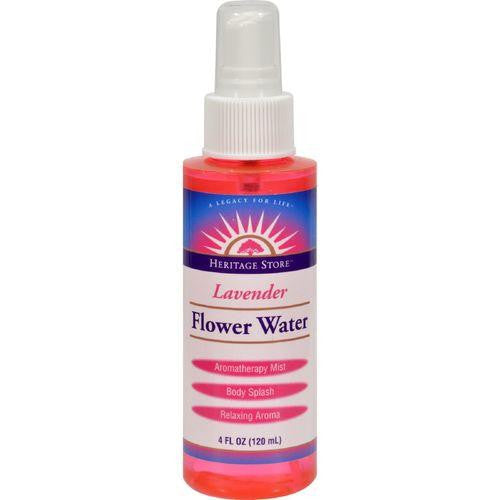 Heritage Products Flower Water Lavender - 4 fl oz - MAXMARTZ