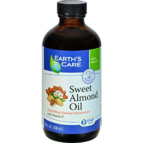 Earth's Care 100% Pure Sweet Almond Oil - 8 fl oz - MAXMARTZ
