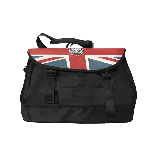 "15"" Laptop Bag NFA The Original Union Jack Satchel - MAXMARTZ"