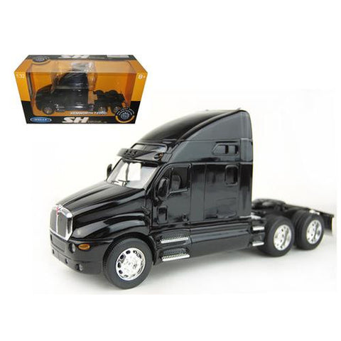 Kenworth T2000 Cab Black 1/32 Diecast Model by Welly - MAXMARTZ