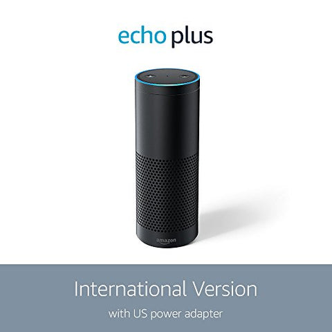 Amazon Echo Plus with built-in Hub (International Version) Black: Amazon Devices - MAXMARTZ
