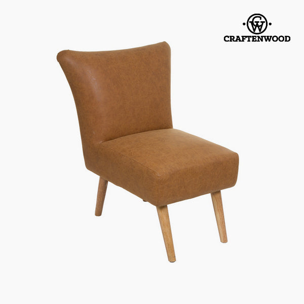 Retro vintage leather armchair - Vintage Collection by Craftenwood - MAXMARTZ