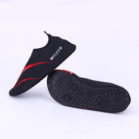 Summer Outdoor Swimming Water Shoes Men And Women Beach Shoes Adult Unisex Flat Soft Walking Lover Yoga Shoes Sneaker - MAXMARTZ