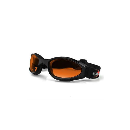 Crossfire, Small Folding Goggles, Anti-fog Amber Lens - MAXMARTZ